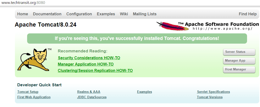 tomcat 8 setup apache tomcat installation of apache tomcat 8 change port of tomcat apache tomcat 8
