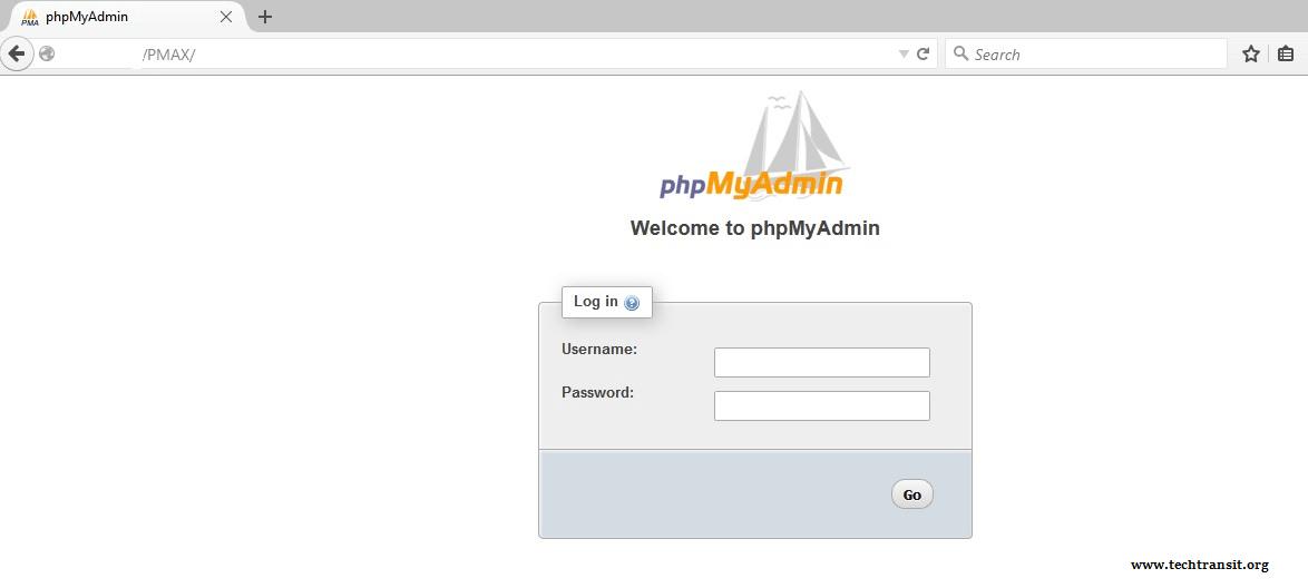 phpMyAdmin PHP mysql server install Centos 6
